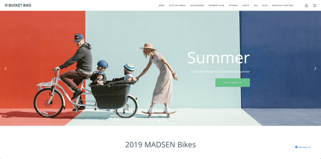Madsen Cycles screengrab